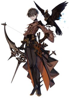 View an image titled 'Lio the Haunting Huntress Art' in our Terra Battle art gallery featuring official character designs, concept art, and promo pictures. Fantasy Character Design, Character Creation, Character Design Inspiration, Game Character, Character Concept Art, Arte Steampunk, M Anime, Character Design References, Character Outfits
