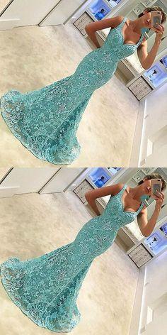 Cheap homecoming dresses 2017,lace mermaid prom dresses, mermaid