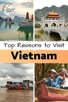 Top Reasons To Put Vietnam on Your Bucket List Cool Places To Visit, Places To Travel, Travel Destinations, China Travel, Bali Travel, Travel List, Travel Guides, Group Travel, Travel Advice