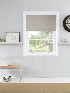 Ash Made to Measure Roman Blind