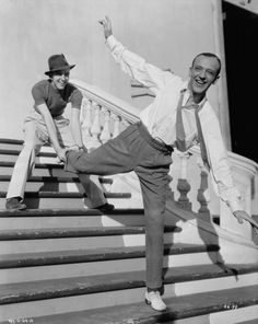 Fred Astaire and Hermes Pan