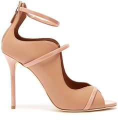 d9562fa74 Malone Souliers by Roy Luwolt By Roy Luwolt - Mika Leather Pumps - Womens -  Nude