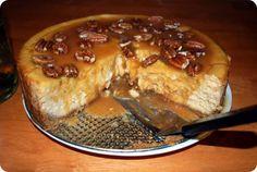 Pumpkin, Spice, and Everything Nice! Enjoy Autumn's Best Pumpkin Cheesecake.