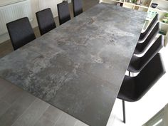 Extendable version of Victoria table in ORIX Dekton and Graphite legs. Available in other sizes and configurations. CANDY dining chairs in Key Largo Anthracite and Graphite legs. Delivered to our client in Coventry. Dining Room Table, Dining Chairs, Family Rooms, Coventry, Graphite, Contemporary Design, Tables, Nursery, Victoria