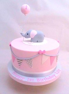 Pink and Grey Elephant Baby Shower Collection + Party Ideas – Partymazing