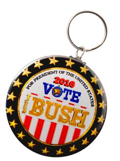 Amazon.com: Jeb Bush 2016 President Keychain + Magnet + Pinback Button: Clothing Save 10% each on Qualifying items offered by Valxart when you purchase 2 or more
