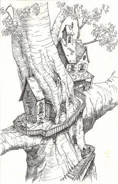 1000 Images About Treehouse Art On Pinterest