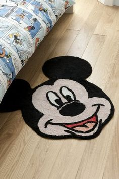 Mickey Mouse Lamp at Walmart | MICKEY MOUSE BLACK LARGE RUG MAT OFFICIAL LICENSED WALT DISNEY 100% ...
