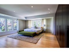simple bedroom with plenty of closet space woodside ca 8250000