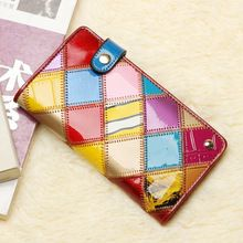 New card package Genuine Leather with cowhide business card case credit card bag, credit card holders for  women ,Free Shipping