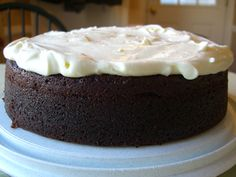 Nigella Lawson's Guinness Cake with Cream Cheese Frosting