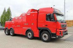 Volvo FMX 500 , 8X4 - TOW , Falkom FAW 25000
