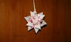 Nick Robinson's #origami spiked icosahedron