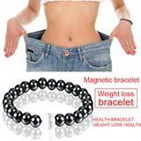 Bracelet magnétique hématite Stone Therapy soins santé la perte de poids bijoux