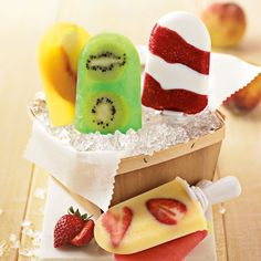 I love the Zoku pop maker, I want to make these sweet treats for summer...