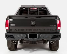 Fab Fours DR09-E2951-1 Vengeance Rear Bumper with Sensor Holes Dodge RAM 1500 2010-2016