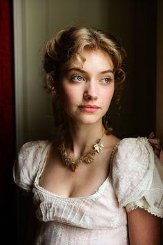 Imogene Poots as Fanny Knight in Miss Austen Regrets (2008).