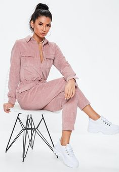 Up your jumpsuit game with hundreds of styles and finishes for any occasion. Explore our women's jumpsuit collection now for a super effortless look. Denim Jumpsuit, Black Jumpsuit, Dungarees, Kids Outfits, Casual Outfits, Boiler Suit, Playsuit Romper, Indian Celebrities, My Outfit