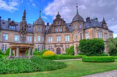 Schloss Bückeburg, close to Minden and Hanover in Lower Saxony, Germany Lower Saxony, Porte Cochere, Terrace, Travel Destinations, Exterior, Kirchen, Mansions, Palaces, Germany