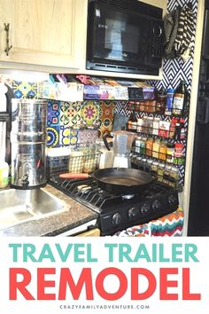 Check out this amazing bohemian style travel trailer remodel! You will love the vibrant colors and style of this RV-turned-home. If you want decor ideas to take your living space from boring to bright and homey, we've got them! We have your organization must haves and share all of the products we actually used to make our small travel trailer a home. See exactly what we did in our post and video. #traveltrailerremodel #rvmakeover #traveltrailermakeover Travel Trailer Decor, Travel Trailer Living, Travel Trailer Organization, Small Travel Trailers, Travel Trailer Camping, Travel Trailer Remodel, Small Trailer, Rv Trailer, Rv Organization