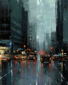 ☆ New York City 3rd Avenue :¦: Artist Victor Bauer ☆