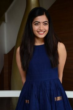 Tollywood Actress Rashmika Mandanna Long Hair Smiling Face - TOLLYWOOD STARS  IMAGES, GIF, ANIMATED GIF, WALLPAPER, STICKER FOR WHATSAPP & FACEBOOK