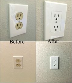Home Depot  $2.25 ea.  Fits right OVER the current outlet!