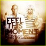 Feel This Moment Lyrics by Pitbull ft Christina Aguilera. Listen to the song or watch the video here.  Ask for money, and get advice  Ask for advice, get money twice  I'm from the dirty, but that chico nice  Ya'll call it a moment, I call it life