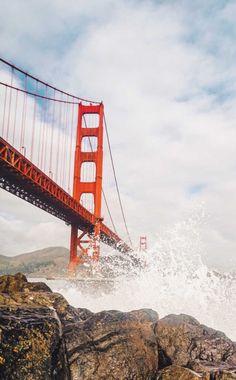 San Francisco ! USA. The Beautiful Golden Gate Bridge. @LeadingWineries of Napa. LwNapa.com