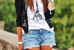 Eiffel Tower T-shirt! <3