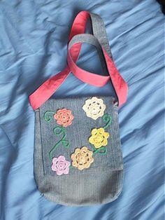 m29m / riflov� ta�ka KVIETKOV� Denim Bag, Lunch Box, Bags, Fashion, Purses, Fashion Styles, Totes, Bento Box, Lv Bags