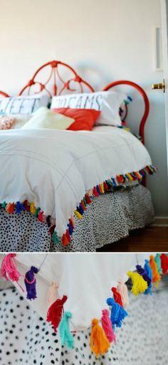 DIY Anthro-Inspired Bedroom Makeover