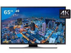 """Smart TV LED 65"""" Samsung 4k/Ultra HD Gamer - UN65JU6500 Wi-Fi 4 HDMI 3 USB"""