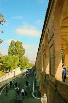 Bologna, San Luca Porches on Sanloccaday, 14th October