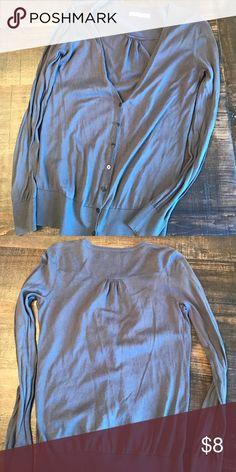 Gray button up sweater Gray button up sweater Old Navy Sweaters