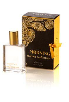 Morning Perfume Oil   #peacockparfumerie