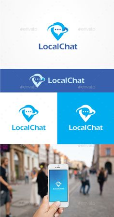 Local Chat - Symbols Logo Templates Download here : https://graphicriver.net/item/local-chat/19252940?s_rank=52&ref=Al-fatih