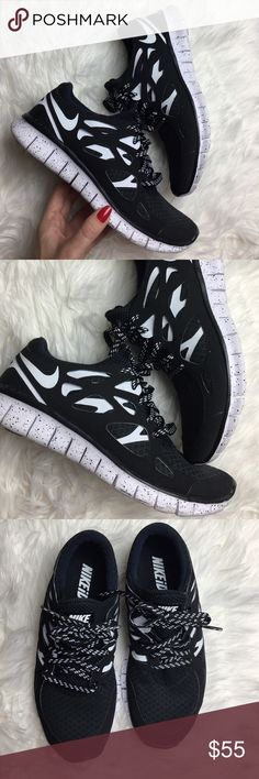 Nike ID Oreo free run 2 custom Worn couple of times like new condition size 9.5 Oreo custom made Nike ID price is firm Ideal for a wide range of runners, this minimal women's-specific running shoe promotes a natural running motion while maintaining the cushioning and support runners have come to love from Nike. Nike Shoes Sneakers