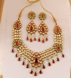 How Is Kundan Different From Regular Jewellery Making The stages are similar to a lot of different jewelry making methodologies. However, the technique is very different. Kundan jewelry uses the ancient Kundankari technique. This refers to the art of making exquisite pieces by setting precious and semi-precious stones in silver or gold. Gold is almost always the preferred choice. Meenakari is a form of engraving, a crafting skill that's as magical as it is uncommon.
