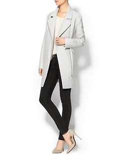 Rebecca Minkoff Finley Coat. The cut is great -- the back is even better.