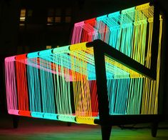 Electroluminescent Wire Chair