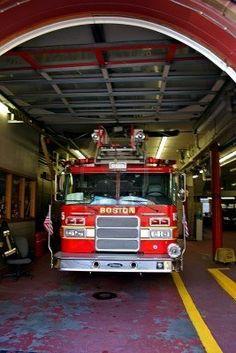 Fire Department at Back Bay, Boston, Massachusetts  #TheCrazyCities #crazyBoston