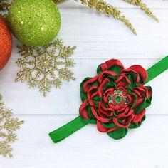 Baby Headband Christmas Headband Christmas by TheRealBriarRoses
