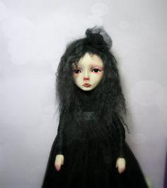 SALE - OOAK Artdoll - Vampire Edith