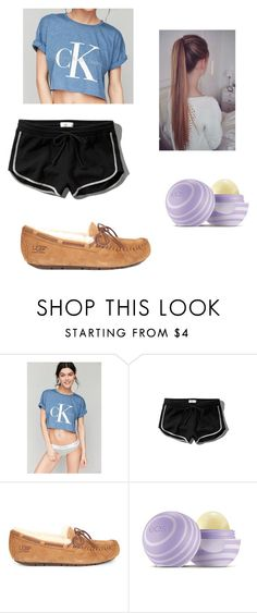 """""""PJ's/ Workout #2"""" by fashionista-dxliv on Polyvore featuring Calvin Klein, Abercrombie & Fitch, UGG Australia, Eos, women's clothing, women, female, woman, misses and juniors"""