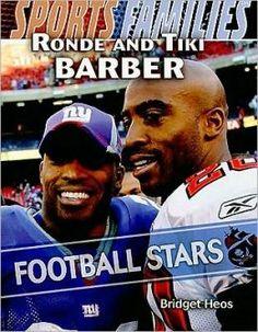 ronde barber rare football card | Ronde and Tiki Barber: Football Stars
