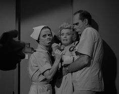 """Rod Serling, The Twilight Zone, """"Eye of the Beholder"""" (1960) - """"One of my favorite eps!"""""""