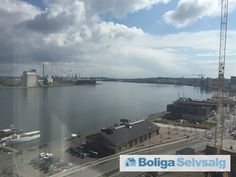 Vesterbro 125, 10. 1004., 9000 Aalborg - Unik udsigt over fjord, havn og Aalborg centrum #aalborg #ejerlejlighed #boligsalg #selvsalg
