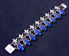Taxco Mexican sterling bracelet