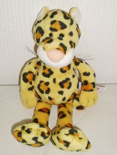 Designed by Nici Soft Toy Beanie Leopard Wild Animal Collectable 8fbd4edb2f87